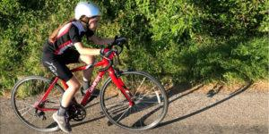 10 year old Evies 500 mile bike ride for Compass 2