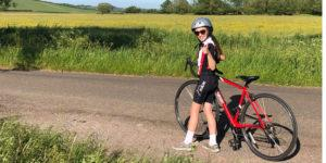 10 year old Evies 500 mile bike ride for Compass 3