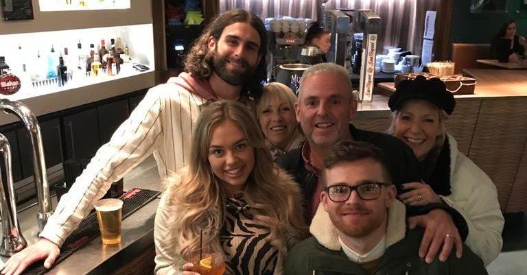 Jonny Brooks family photo at Media City_2