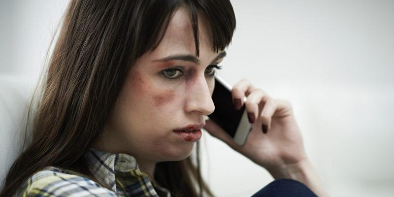 Abuse photo mobile