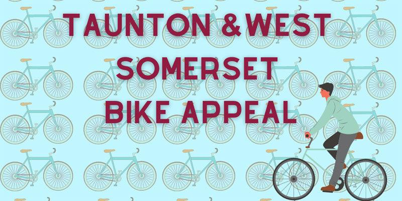 Appeal for second hand bikes in Taunton poster