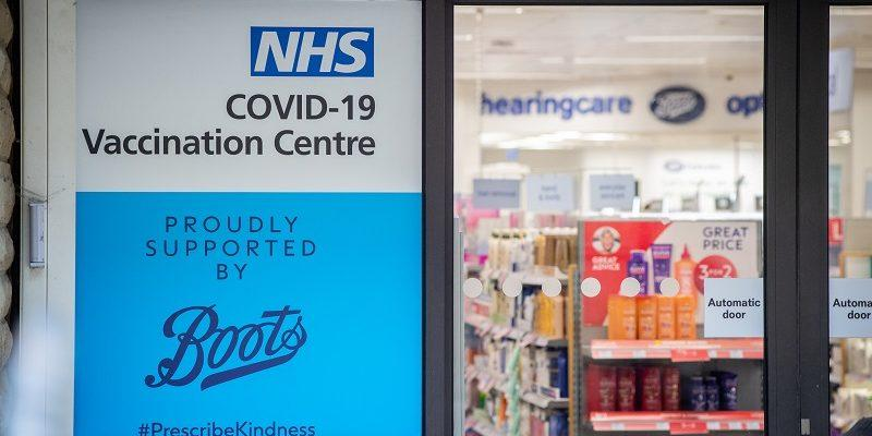 Boots will offer NHS COVID 19 vaccinations 50