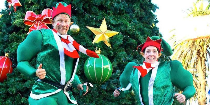 Bouncy stilt elves