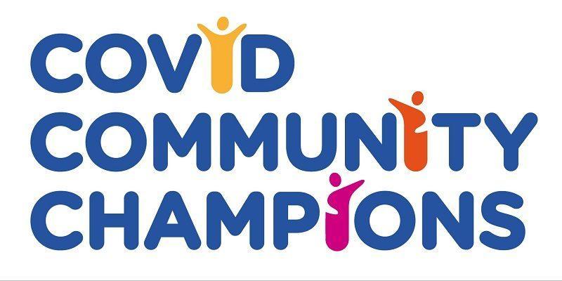 Covid Community Champions logo