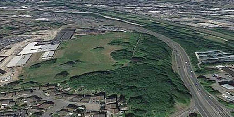 Creechbarrow from the air edited