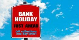All change for Early May Bank Holiday