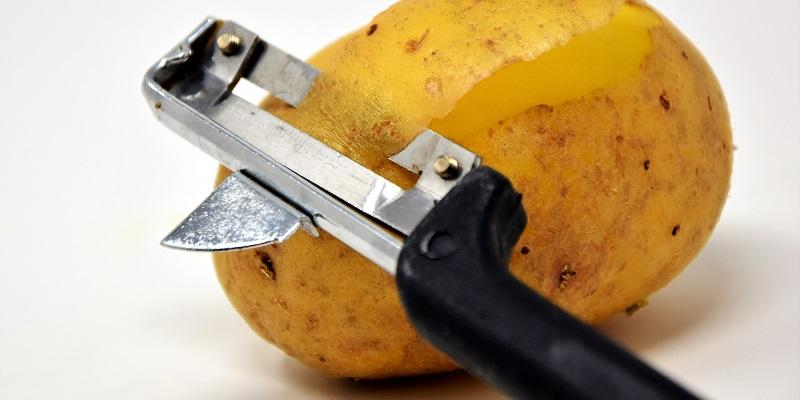 Fun food waste campaign to increase recycling potatoe