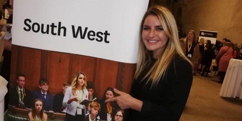 Hanna Wittek youth parliament Nov 2019 2
