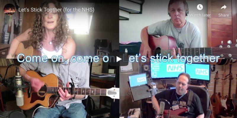 Isolation music video by Taunton NHS workers
