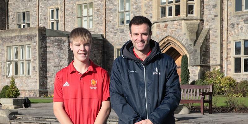 Jacob Pengelly England Hockey with Elliot Foweraker