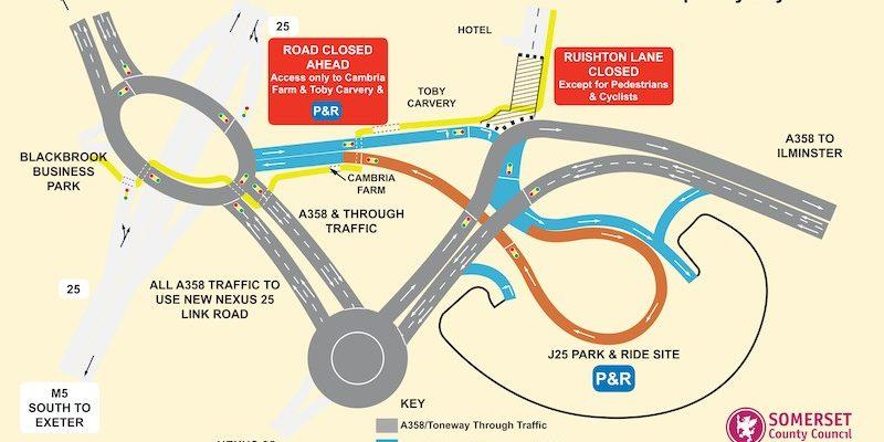 M5 J25 Traffic Flow Fin