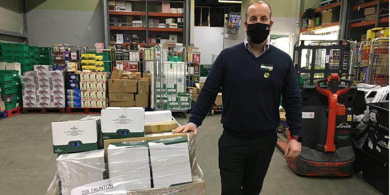Morrisons donate pallet of supplies to Musgrove staff 2