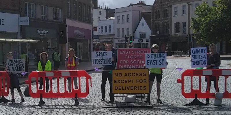 Praise given for the closure of East Street