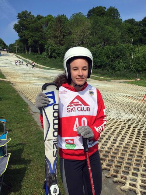 Queens College Taunton student ski ing substitute