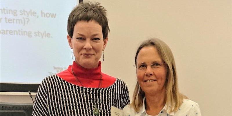 Sophie Havigurst with Ruth James 2019