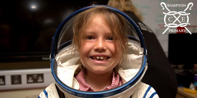 Spacesuit Bampton ISS Press Release