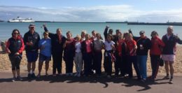 Taunton School channel swim for 12 year old's 5