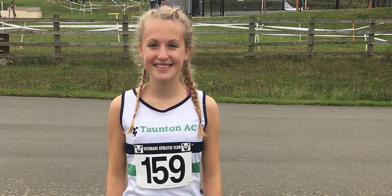 Taunton teenage race walker sets the pace