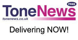 The latest issue of Tone News out for delivery January 2020