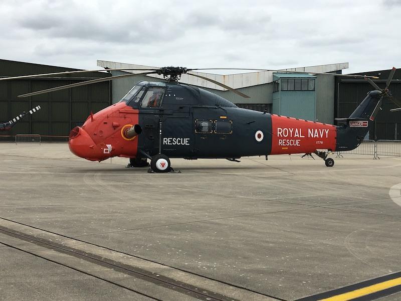 The Royal Navy International Air Day 2020 sea king
