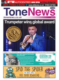 Tone News Issue 28 Cover
