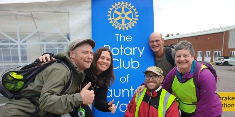 Welcome support for local charities from Moonraker Challenge