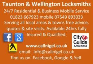 call nigel locksmith wellington