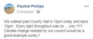county hall lights by pauline phillips