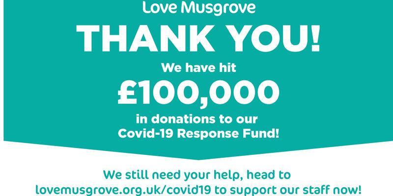 love musgrove thank you 100k