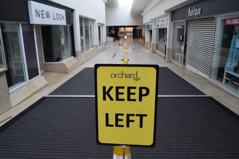 orchard centre social distancing 4