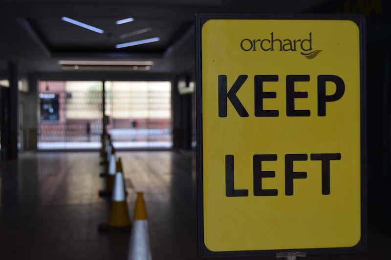 orchard centre social distancing 7