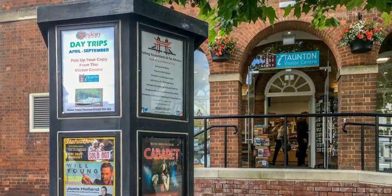 taunton visitoe centre re opens