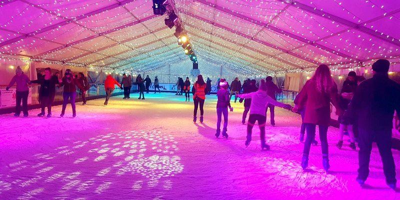 tauntons magical ice rink