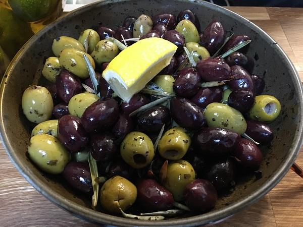 the littel wine shop and social olives