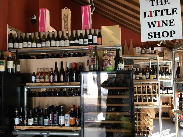 the littel wine shop and social shop