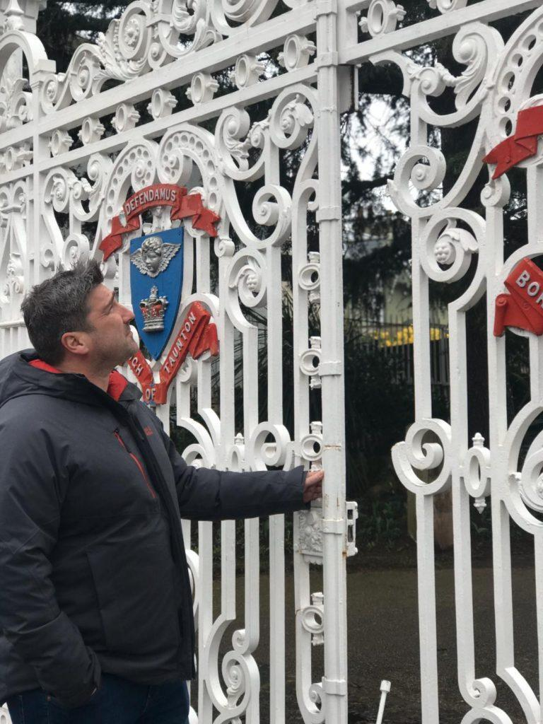 vivary park gates with james hassett